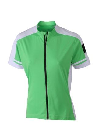 Dámský cyklistický dres JN453 - Zelená | S