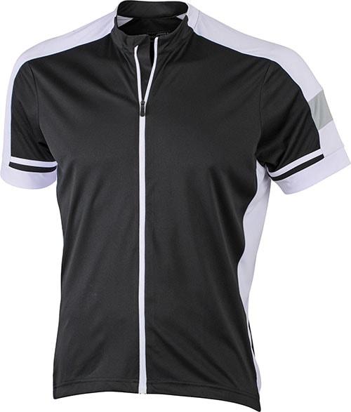 Pánský cyklistický dres JN454 - Černá | M