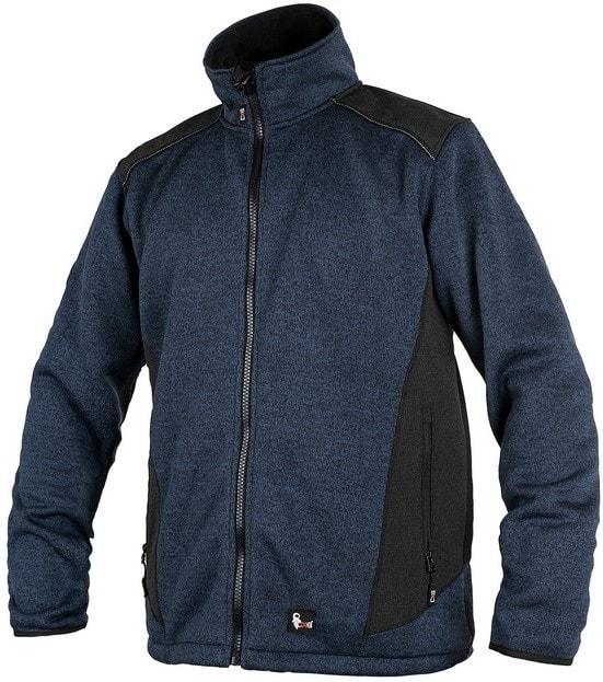 Pánská bunda GARLAND - Modrá / černá | XXXL