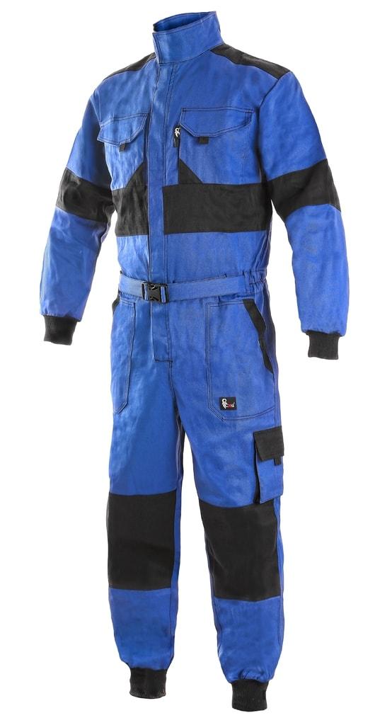 Zimní pracovní kombinéza CXS LUXY ALASKA - Modrá / černá | 62