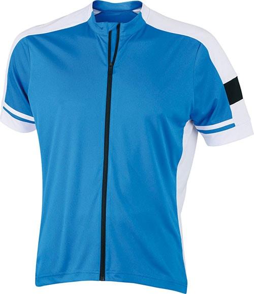 Pánský cyklistický dres JN454 - Kobaltová | S
