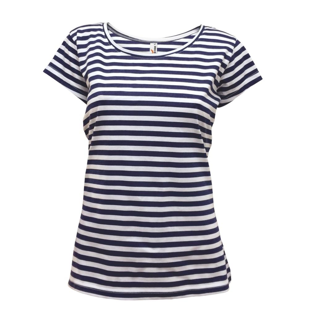 Dámské námořnické tričko - Tmavě modrá | S