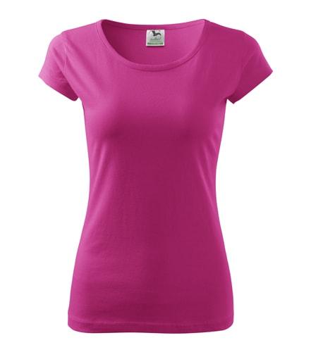 Dámské tričko Pure - Purpurová | S