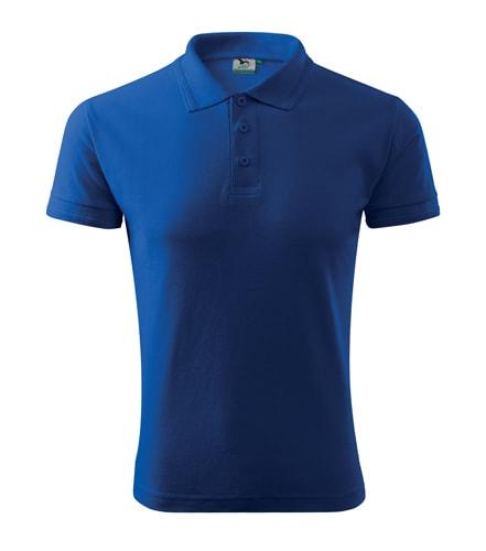 Pánská polokošile Pique Polo - Královská modrá   L