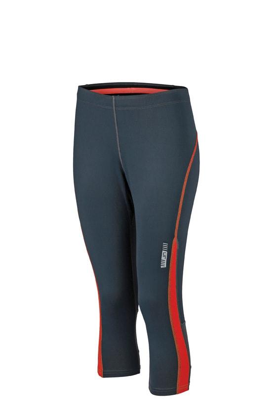 Dámské sportovní 3/4 kalhoty JN481 - Ocelově šedá / grenadina | XS