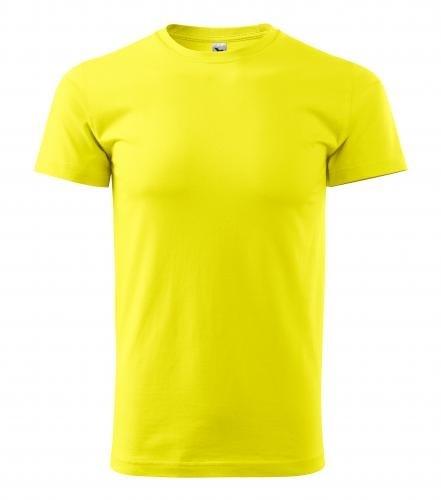 Pánské tričko HEAVY - Citrónová | XXXL