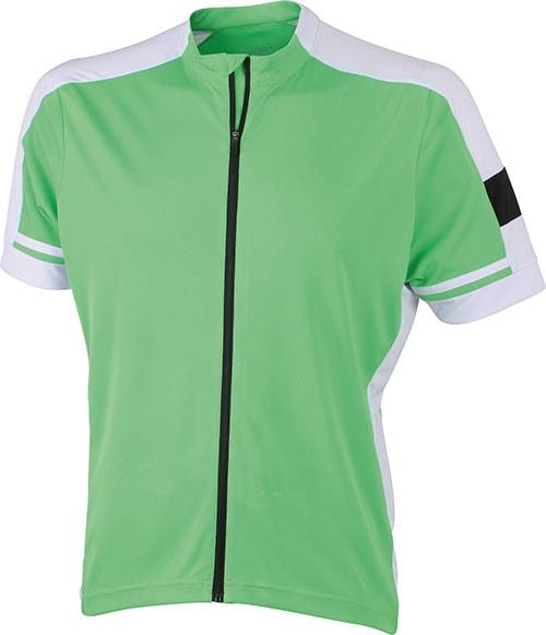 Pánský cyklistický dres JN454 - Zelená | XXL