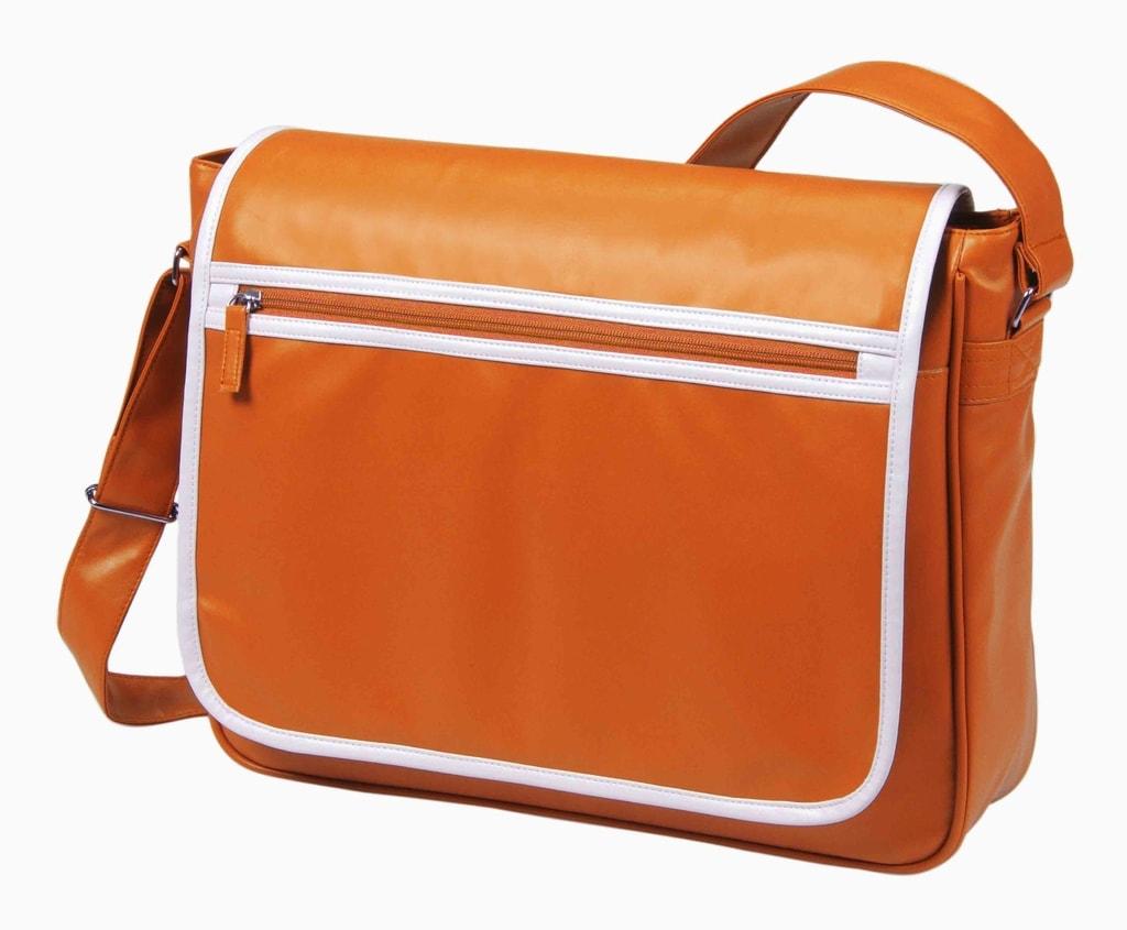 Kurýrní taška přes rameno RETRO - Oranžová