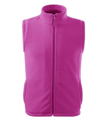 Fleecová vesta Adler - Světle fuchsiová | S