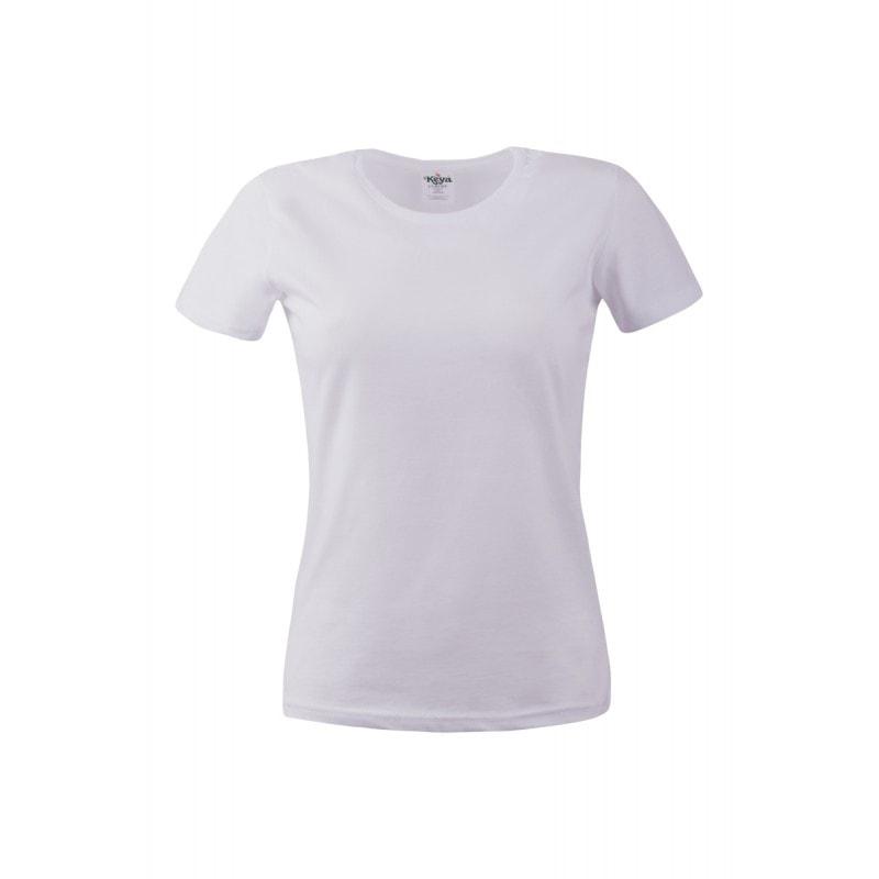 Dámské tričko ECONOMY - Bílá | L