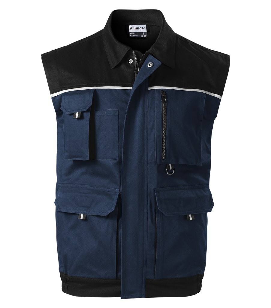 Pracovní vesta WOODY - Námořní modrá | XL