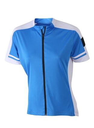 Dámský cyklistický dres JN453 - Kobaltová | XXL