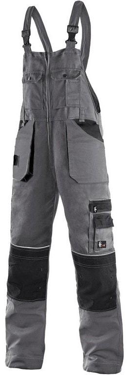 Zimní pracovní kalhoty s laclem ORION KRYŠTOF prodloužené - 48-50