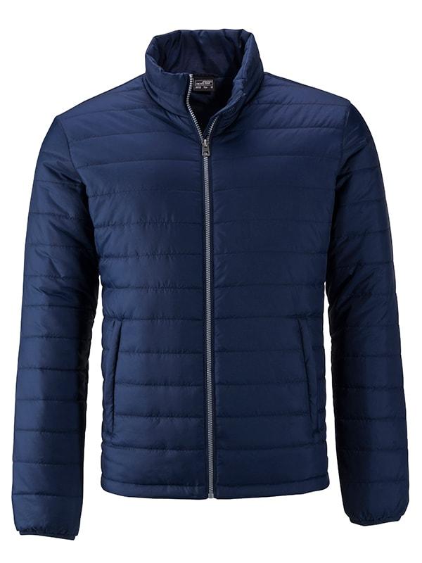 Pánská jarní bunda JN1120 - Tmavě modrá | S