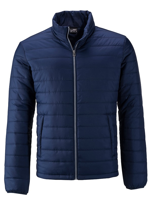 Pánská jarní bunda JN1120 - Tmavě modrá | L