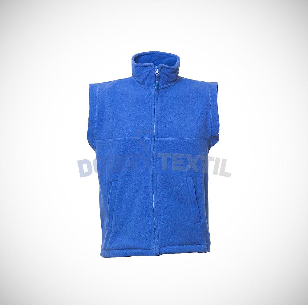 Fleecová vesta - Královská modrá | XXXL
