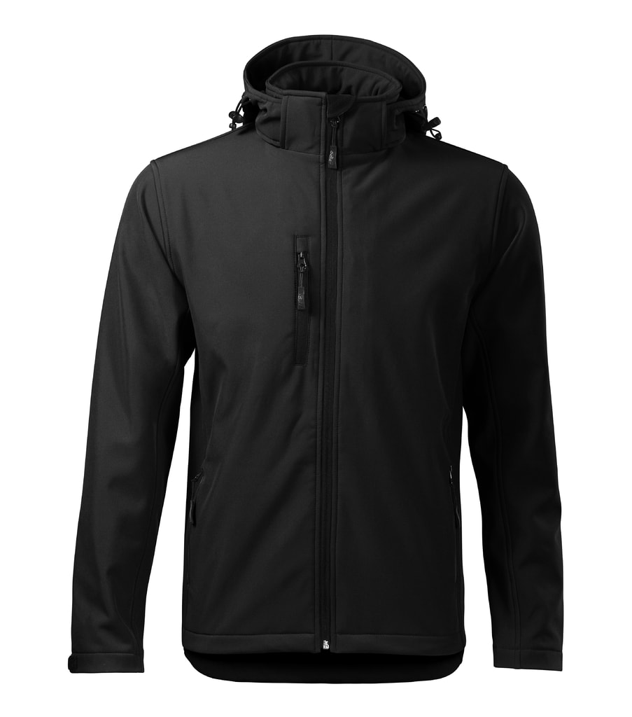 Pánská softshellová bunda Performance - Černá | M
