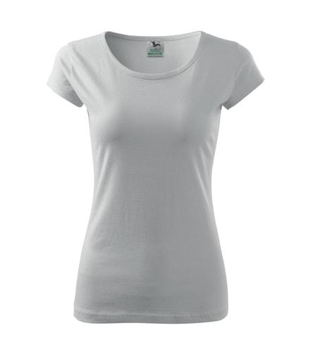 Dámské tričko Pure - Bílá | XXL