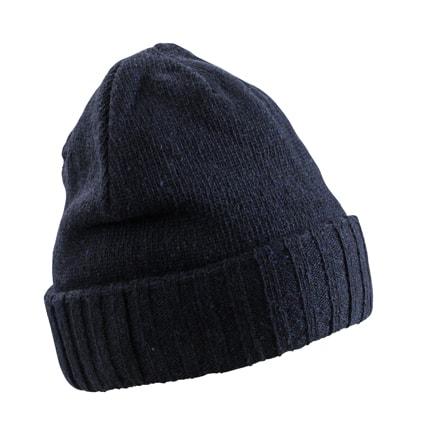 Zimní čepice MB7979 - Tmavě modrá | uni