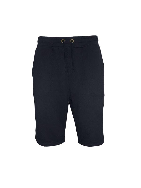 Pánské teplákové kraťasy - Černá | XL