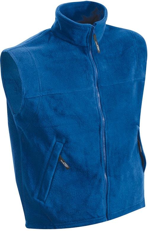 Pánská fleecová vesta JN045 - Královská modrá | XXXL
