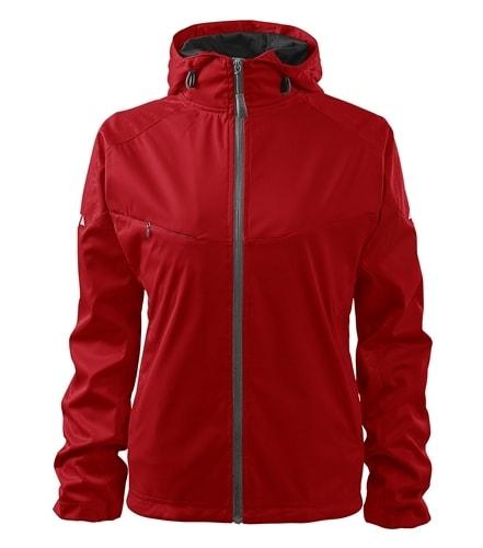 Lehká dámská softshellová bunda COOL - Červená   M