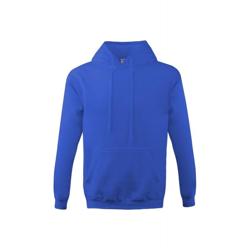 Mikina s kapucí klokanka NEW - Královská modrá | M