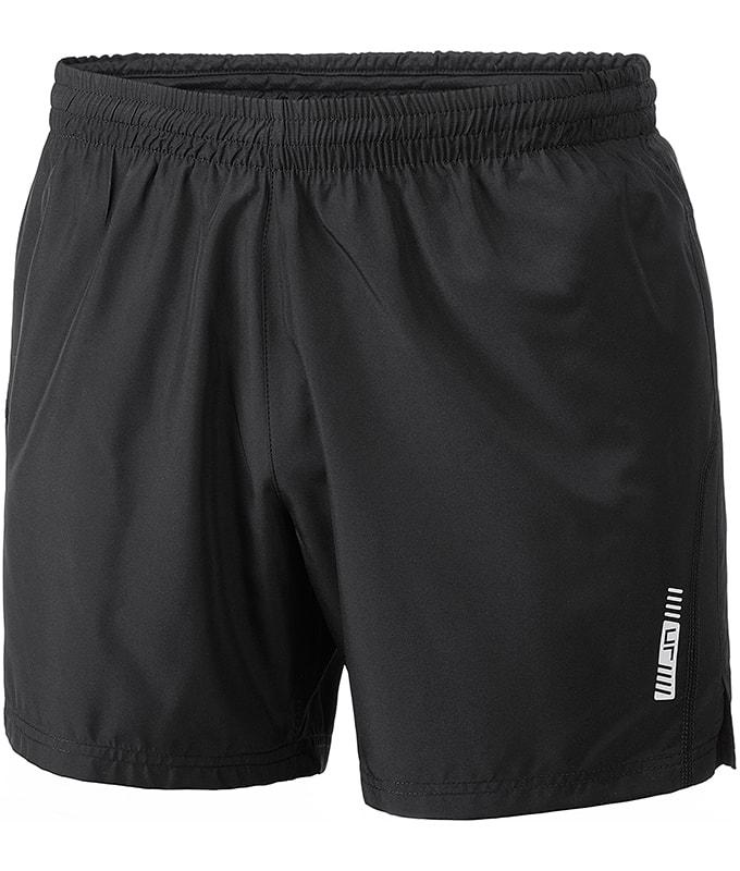 Pánské běžecké šortky JN488 - Černá / černá | XXL