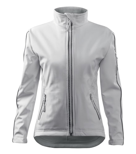 Dámská softshellová bunda Jacket - Bílá | M