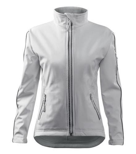 Dámská softshellová bunda Jacket - Bílá | XL