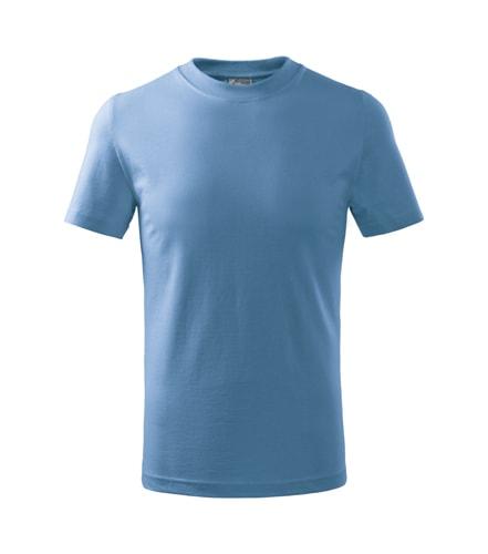 Dětské tričko Basic - Nebesky modrá | 110 (4 roky)