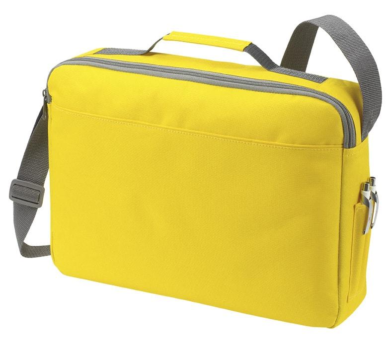 Velká taška na dokumenty BASIC - Žlutá