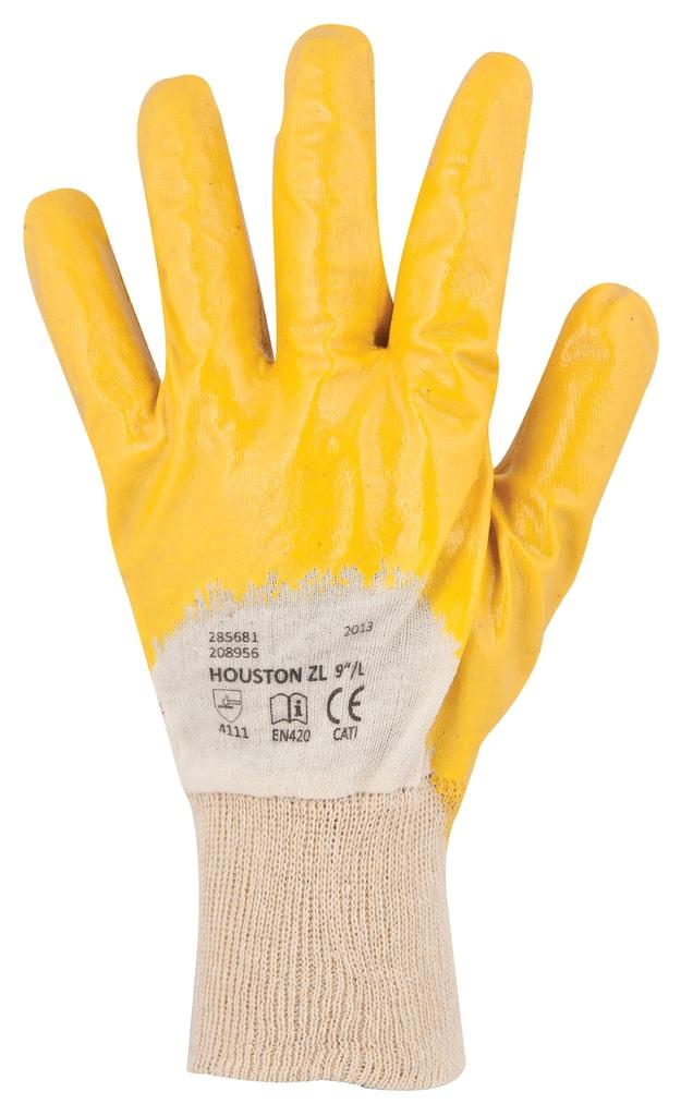 Pracovní rukavice Houston - Žlutá   10