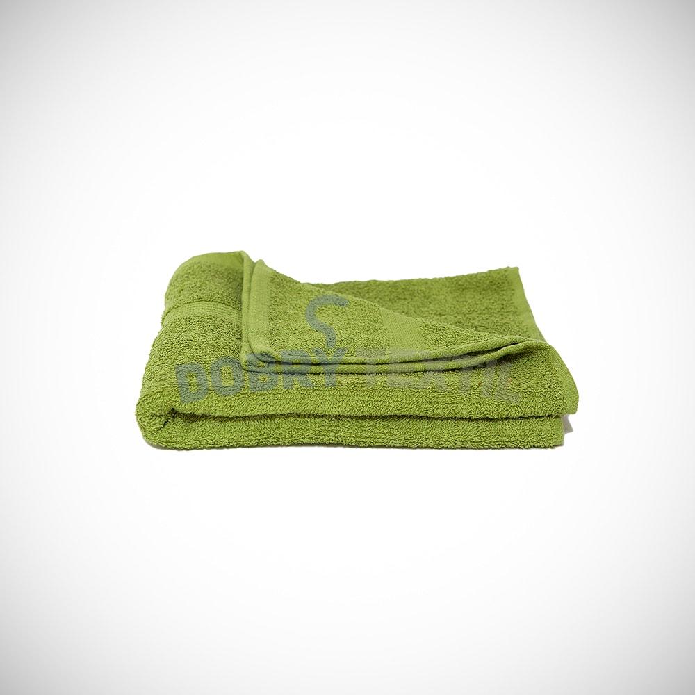 Reklamní ručník 50x100 - Zelená kiwi | 50 x 100 cm