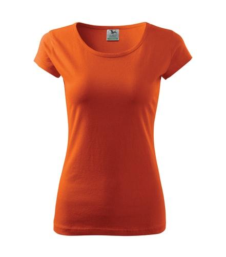 Dámské tričko Pure - Oranžová   L
