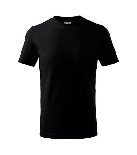 Dětské tričko Basic Adler - Černá | 134 (8 let)
