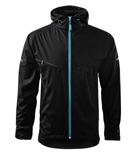Lehká pánská softshellová bunda COOL - Černá | M