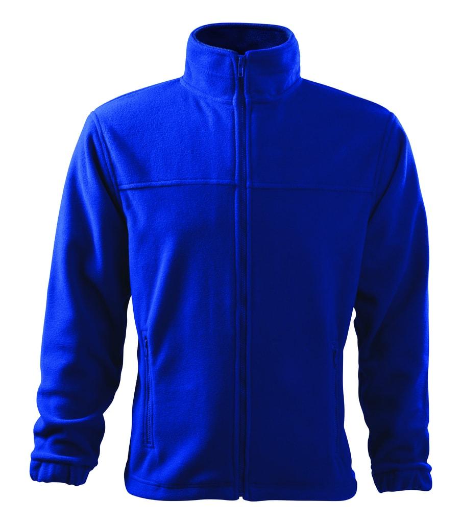 Pánská fleecová mikina Jacket - Královská modrá | S