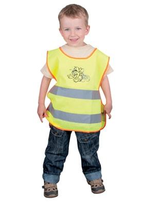Dětská reflexní vesta - Žlutá | M