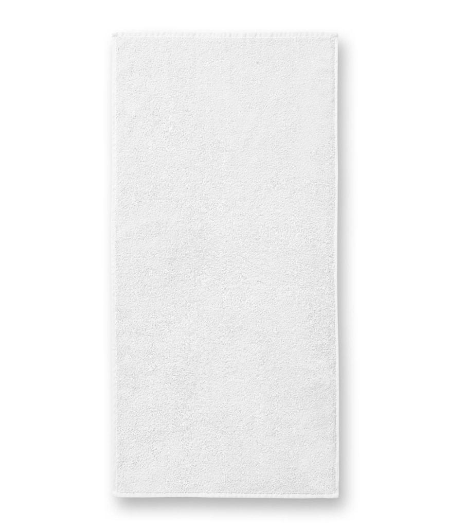 Ručník bez bordury Terry Towel - Bílá | 50 x 100 cm