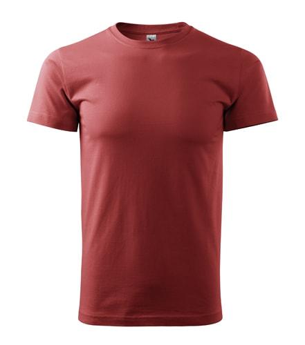 Pánské tričko HEAVY - Bordó | XL