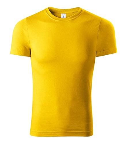 Tričko Peak - Žlutá | XXXXL