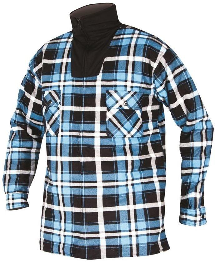 Pánská zimní flanelová košile - XXL