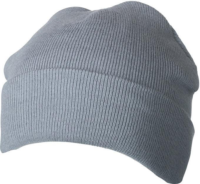 Zimní pletená čepice Thinsulate MB7551 - Světle šedá