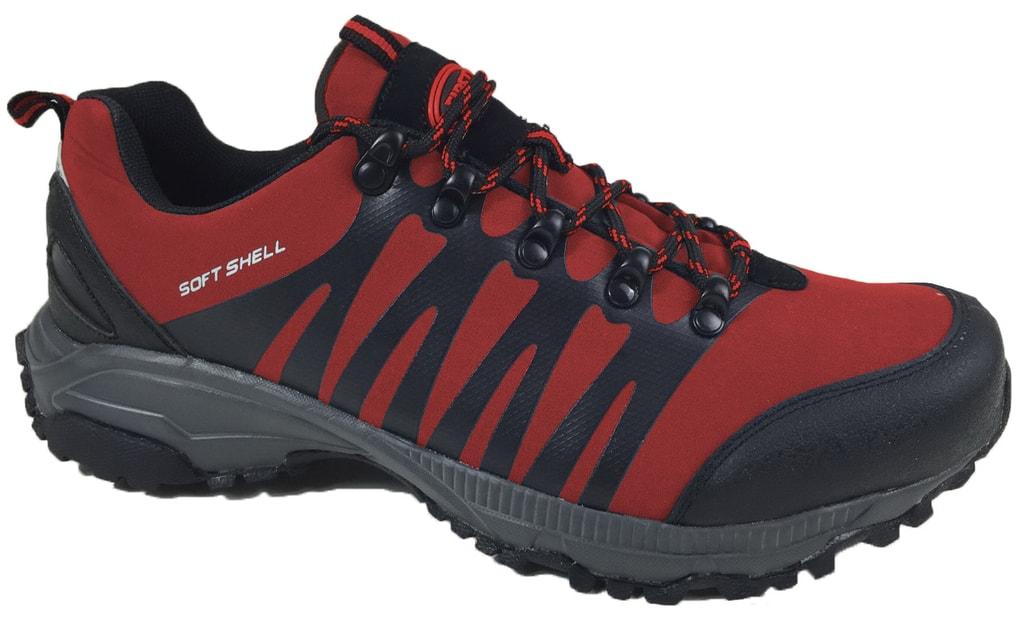 Sportovní softshellová obuv Feet - Červená | 41
