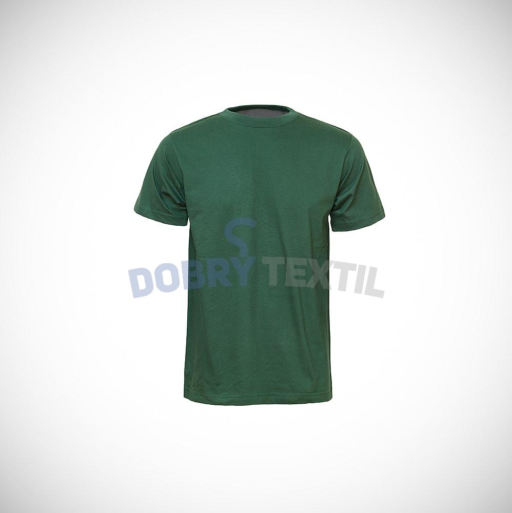Reklamní tričko CLASSIC - Lahvově zelená | XXXXL