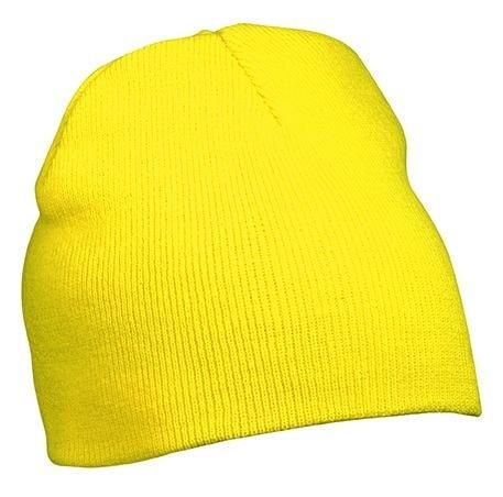 Pletená čepice MB7580 - Žlutá | uni