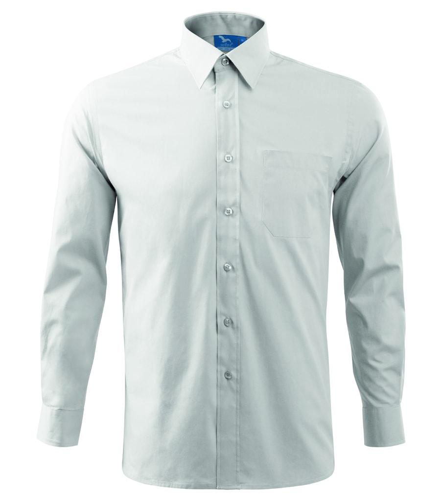 Pánská košile s dlouhým rukávem Adler - Bílá   XXXL