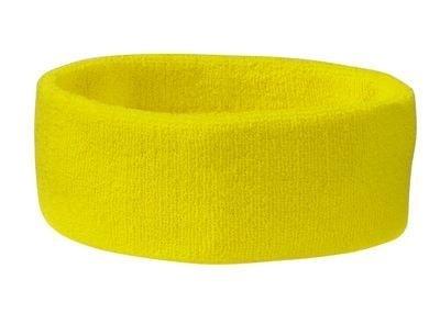 Sportovní čelenka MB042 - Světle žlutá
