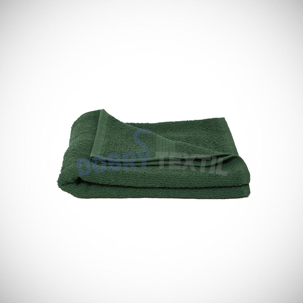 Reklamní ručník 50x100 - Lahvově zelená | 50 x 100 cm